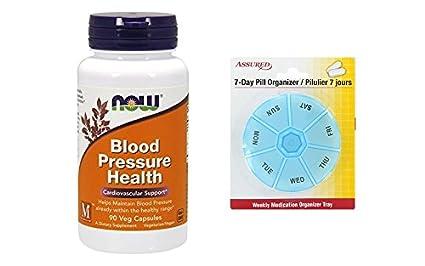 Amazon.com: AHORA la presión arterial salud, 90 vegetales cápsulas: Health & Personal Care