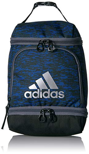 adidas Excel Lunch Bag, Collegiate Royal Bookend/Black/Onix/Silver, One Size