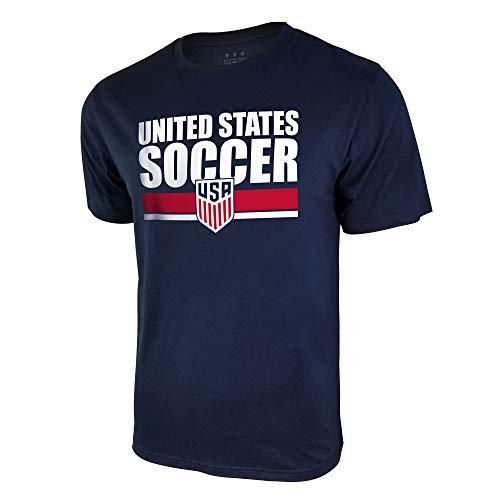 Icon Sports U.S. Soccer Men's Cotton/Poly T-Shirt (Large) ()