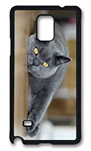 Adorable Cat yellow Eyes Hard Case Protective Shell Cell Phone For Case Samsung Note 3 Cover