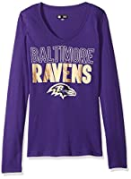 NFL Women's Long Sleeve V Neck Jersey