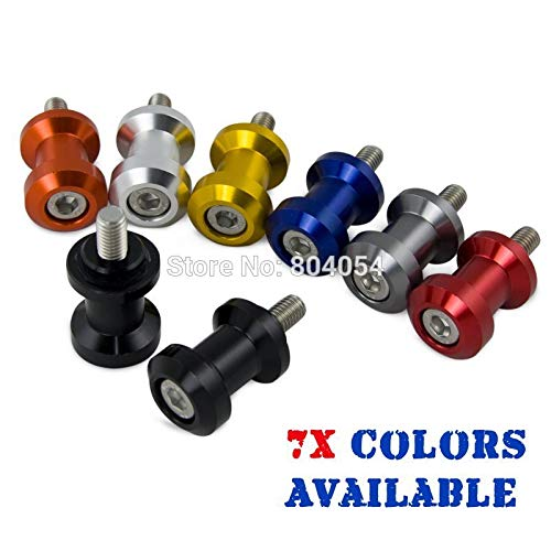 Honda Cbr929rr Swing Arm - MOJITO LIVING PTE 8mm CNC Swing Arm Sliders Spool Swingarm For Honda CBR600 F2 F3 F4 F4i CBR600RR CBR900RR CBR929RR CBR954RR CBR1000RR RC51