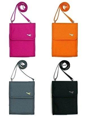 e50bb7add4c PackNBUY PINK Sling Travel Passport Organizer Bag  Amazon.in  Home   Kitchen