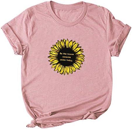 BALABA??Couple`s Sunflower Shirt Short Sleeve LetterPotato Print Tops Summer Blouse Casual Tshirt / BALABA??Couple`s Sunflower Shirt Short Sleeve LetterPotato Print Tops Summer Blouse Casual Tshirt