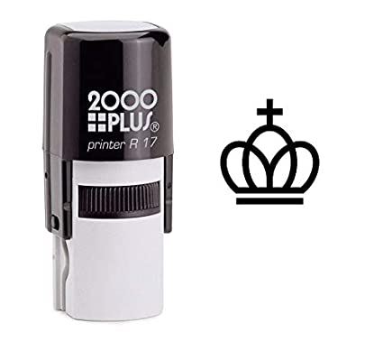 Regal Kings Crown Self Inking Rubber Stamp