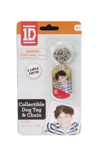 One Direction Dog Tags, Louis -