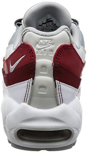 Nike Herren Air Max 95 Essential Laufschuh Weiß / Wolfsgrau-reines Platin