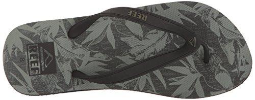 Switchfoot Prints Floral Sandal Men's Reef Black BOvq05Ww
