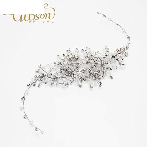 Luxury Exquisite Handmade Hair Accessories Bridal Crown Tiara Diadem Headdress Wedding Birthday Party Karen