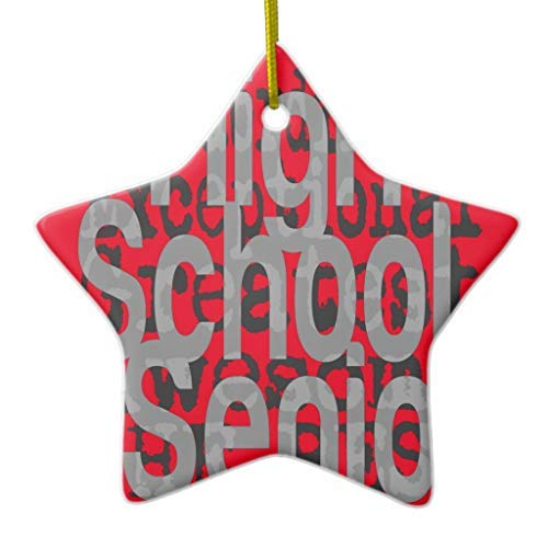 Arthuryerkes High School Senior Extraordinaire Christmas Ornament Star Ceramic 3 inch