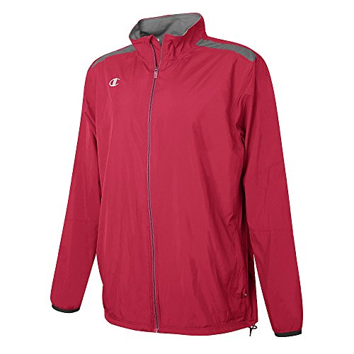Champion Youth Go-To Full Zip Jacket Scarlet Red