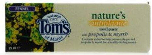 Том Мэн Natural Фенхель Зубная паста 6PK Фтор-Free (85 мл, 4.6oz)