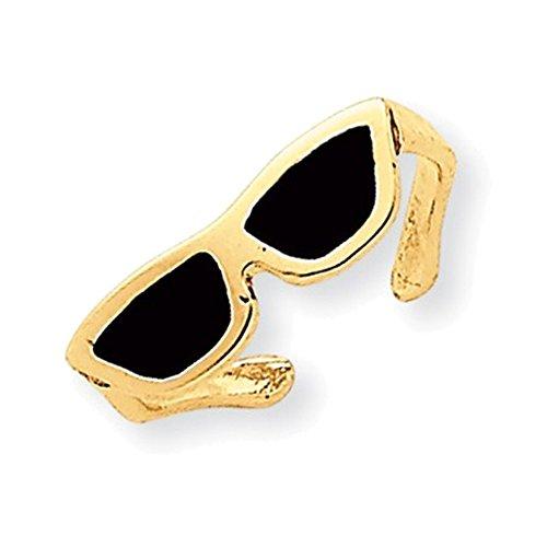 14k Enameled Sunglasses Toe Ring