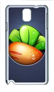 Samsung Galaxy Note 3 N9000 Case,Defend Radish PC Hard Plastic Case for Samsung Galaxy Note 3 N9000 Whtie
