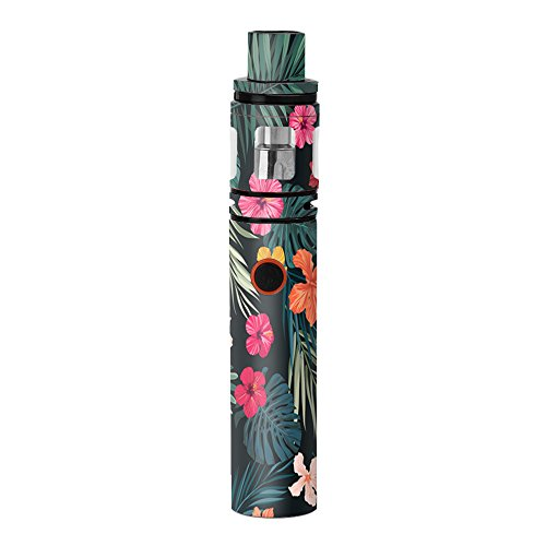 Skin Decal Vinyl Wrap for Smok Stick V8 Kit Vape stickers skins cover/Hibiscus Flowers tropical hawaii