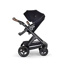 Like all Stokke Strollers, the seat and carry cot position are placed high up to encourage eye contact and connection between parent and child. As well as multiple parent or forward facing positions, Stokke Trailz offers an ultra-comfortable ...