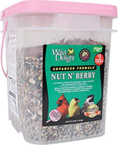 Wild Delight Nut N' Berry Pail Wild Bird Food, 16 -