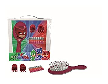 PJ masks de pelo niña de las flores de accesorios cepillo owlette 15 PCs
