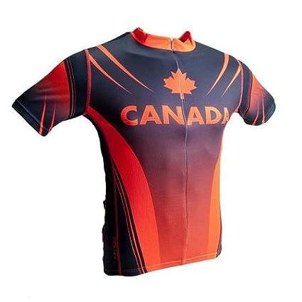 Amazon.com   Primal Wear Canada Cycling Jersey Men s Small S ... c4769943e