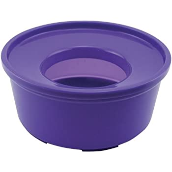 Amazon Com Ryan S Own No Spill Water Bowl Purple Pet