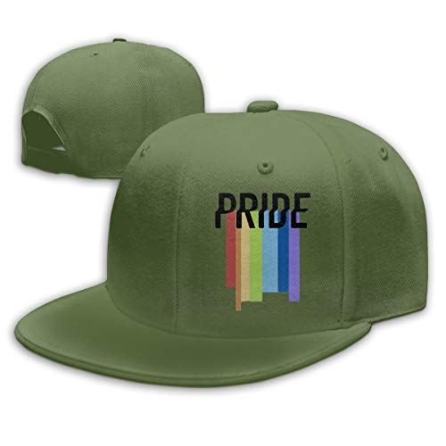 Adjustable Sports Plain Baseball Cap, Gay Pride Solid Twill Hat, Unisex