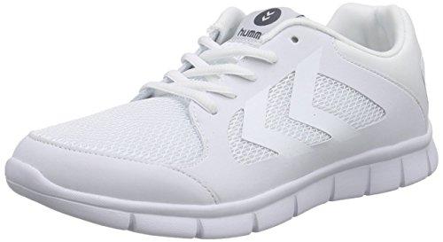 White Weiß Unisex Erwachsene Hummel Fit Hallenschuhe EFFECTUS 0xqYg7