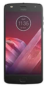 Motorola Moto Z2 Play - Smartphone libre Android 7 (pantalla de 5.5'' Full HD, 4G, cámara de 12 MP, 4 GB de RAM, 64 GB, Qualcomm Snapdragon 626 de 2,2 GHz) gris lunar