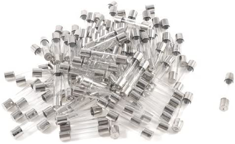 100pcs 6mm x 30mm Low Blowing Quick Blow Glass Tubes Fuses 250V 2A