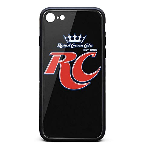 YJRTISF iPhone 6plus/6s Plus Case Shockproof Case Music Blues Glass Rear Cover 9H Tempered Glass Back Cover RC-Cola-Logo- Resistant Soft TPU Material Bumper for iPhone 6 Plus/iPhone 6s Plus