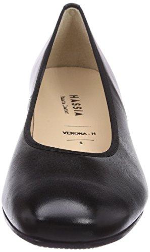 Hassia Verona, Weite H, Women Closed-Toe Pumps & Heels Black