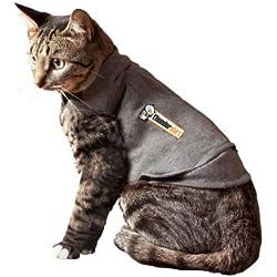 Thundershirt Medium Grey Cat Thundershirt 9-13 Lbs