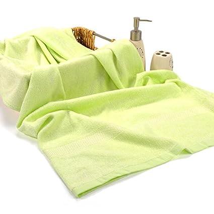 Ecológico de fibra de bambú toalla de baño Toalla de baño grande inicio adultos parejas antibacteriana