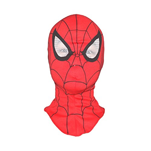 LIPOVOLT Halloween SpiderMan Fancy Dress Mask Role Party Style Costume Cosplay Face cool