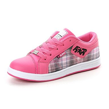 FAGL zapatillas de deporte zapatos de moda skate Imitación de las mujeres zapatos de gamuza más