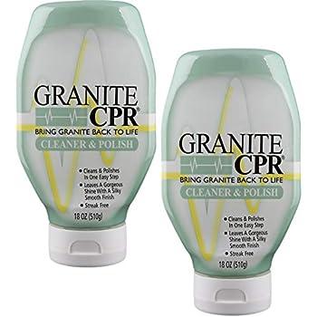Amazon Com Cpr Granite 18oz Bottle 2 In 1 Cleaner