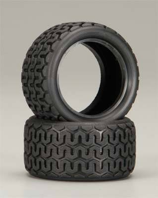 Custom Works, 6214 Rear Street Trac Tire (2) Stk (Low Profile Buggy Tire)