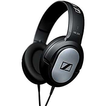 Sennheiser HD 201 Lightweight Over Ear Headphones