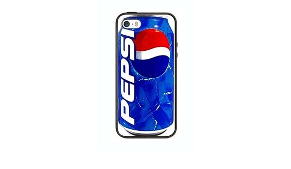Funda de Pepsi Cola para iphone 6 PS9 frontera silicona negro @ pattayamart: Amazon.es: Jardín