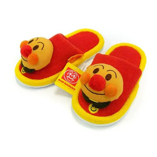 Anpanman baby slippers red ~ yellow / image 1