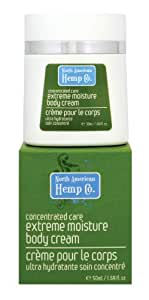 North American Hemp Co. Concentrated Care Extreme moisture body cream, 1.69 Ounce Bottle