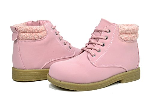 Dream (Lace Up Pink Boots)