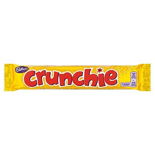 Cadburys Crunchie - 40g - Pack of 12 (40g x 12 Bars)