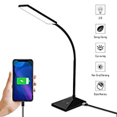 A dainty LED desk lamp that will make your life bright and lovely. Brighten your night without disturbing others and protect your eyes to the largest extent. Whether you use it for reading or for relaxing, this delicate light ...