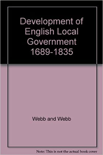 Read online Development of English Local Government, 1689-1835 (Home University Library) PDF