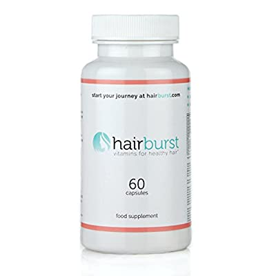 HAIRBURST TM Vitamins for Hair Growth - One Month Supply - 60 Capsules - Faster Hair Growth and Money Back Guarantee