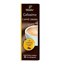 Tchibo Cafissimo Capsulals CAFFE CREMA MILD Caffitaly,Gaggia 10 Capsules