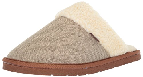 Lamo Womens Aria Scuff Slipper Chestnut