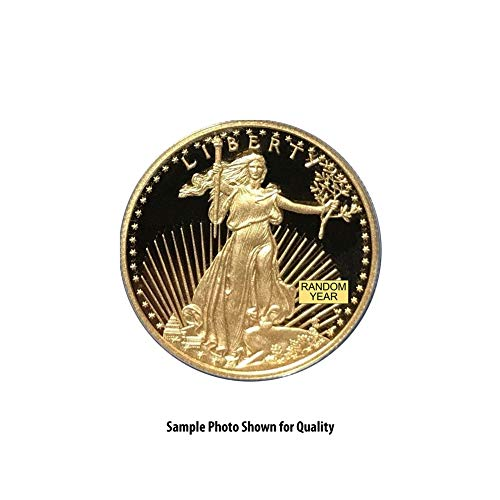 Rare Coin Gold (1986 - Present (Random Year) 1/2oz American Gold Eagle $25 Proof)