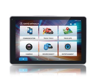 Rand McNally OverDryve 8Pro 8'' Truck GPS Tablet with Dash Cam and Bluetooth