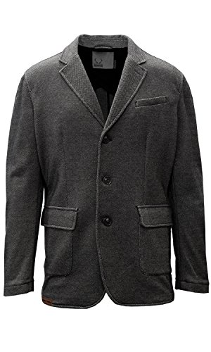 Levelwear LEY9R NHL Buffalo Sabres Adult Men Granite Sport Coat, Medium, Charcoal ()